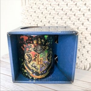 NEW Harry Potter 4 Houses Crest Coffee Mug